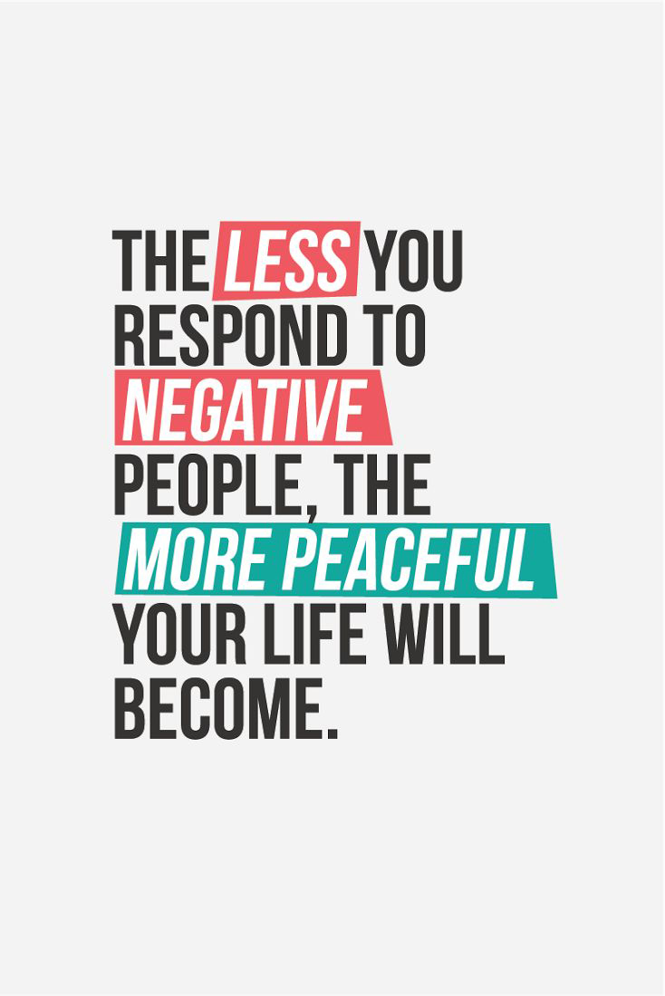 Detoxing Negative People
